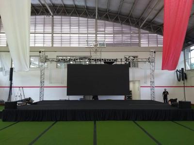 Locação de palco