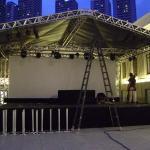 Aluguel de palco para show