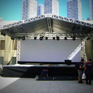 Locação de palco coberto