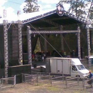 Locação de palco para shows